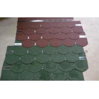 Wholesale Durable fiberglass Light Fish Scale Asphalt Roofing Shingles , Exterior roof tiles from china suppliers
