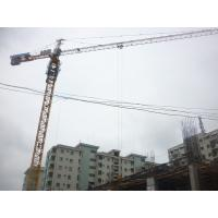 China Building Construction Hydraulic Self Raising Tower Crane Equipment With Three Speed Motor on sale