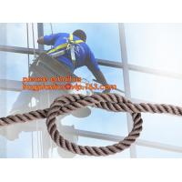 Wholesale wall-wash nylon twisted safety rope, wall-wash nylon safety rope from china suppliers