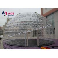 Buy cheap 0.8mm Pvc Material Dry Inflatable Event Tent Holley web Inflatable Bubble Tent from wholesalers