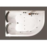 Wholesale Aganist Wall Free Standing Jetted Soaking Tub , American Standard Whirlpool Tub from china suppliers