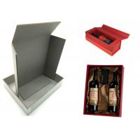 China Pressed Cardboard Paper Sheets Laminated Gray Board For Wine Box / Jewel Box for sale