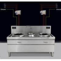 Wholesale Anti-interference catering equipment  large induction wok  for chinese style from china suppliers