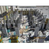 China Adjustable Concrete Column Formwork With Tie Rod For Square / Rectangle on sale