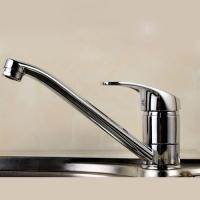 Wholesale Ceramic Disc Valve Single Handle Bathroom Faucet Hot / Cold Mixer from china suppliers