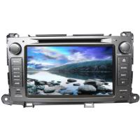China Double din touch screen car dvd audio stereo TOYOTA GPS Navigation for sienna for sale