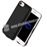 Buy cheap 4.7 Inch iPhone 6 / 7 / 8 Power Case Poker Scanner With IR Camera Inside To Scan from wholesalers