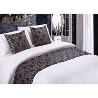 Wholesale Woven Fashion Design King Size Bed Runner / Cotton Quilted Bed Runner from china suppliers