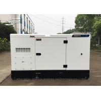 Electric Start Industrial Diesel Generators 1500 rpm Fan Cooling for sale