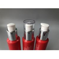 China Colored Empty Cosmetic Tubes With Pressed Chicken Break Pump Head for sale