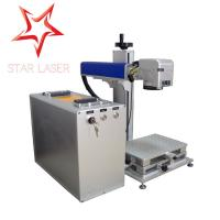 Wholesale Aluminum 30 W Portable Laser Marking Machine Strong Function With Computer from china suppliers