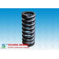Wholesale Customized Alloy Steel Hot Wound Springs , Overload Coil Springs Black Painted from china suppliers