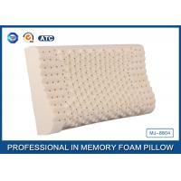 Wholesale Comfortable Supportive Latex Foam Rubber Pillow With Durable Cover , Memory Foam Pillow from china suppliers