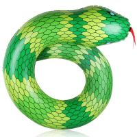 Buy cheap Snake Shape PVC Tube Inflatable Swimming Ring Pool Float for Adult / Kids Summer Beach Party from wholesalers