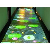 Wholesale Airport Interactive Floor Projectors Interactive Display Screen For Table / Bar from china suppliers