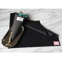 Wholesale Black In Stock Wool Cashmere Coating FabricFor Women Above Knee Skirt from china suppliers