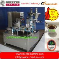 Wholesale coffee nespresso rotary filling machine from china suppliers