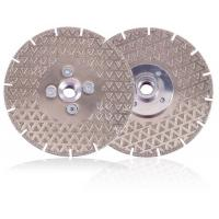 Wholesale Electroplated Diamond Stone Cutting Blades With Triangle Protection from china suppliers