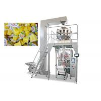 Wholesale Multiheads Weighing And Packing Machine For Jelly Drop Back Central Seal from china suppliers