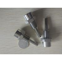 Buy cheap CNC machining Sensor stainless steel nipple from wholesalers