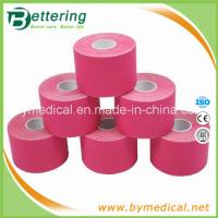 Wholesale Kinesiology muscle therapeutic tape 5cmX5m pink olour from china suppliers