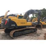 China Year 2016 Used Volvo Excavator 21 Ton , Second hand crawler EC210BLC  track excavator Equipment93% UC for sale