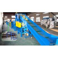 500-1000KG PET Bottle Recycling Plastic Washing Line Automatic Control for sale