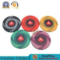 Wholesale Dedicated High-end Anti-counterfeit Ceramic Chips For Casino Texas Hold'em Poker Mahjong Club Special Ceramic Code Accep from china suppliers