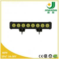 China Waterproof IP67 CREE Chip 80w LED Light Bar Off Road Made In China on sale