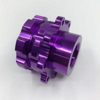 Wholesale Telescope Parts Aluminium Cnc Service Milling Machining Purple Anodized Surface from china suppliers