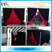 Buy cheap used adjustable photo booth pipe and draping with factory price from Wholesalers