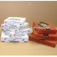China custom pizza box on sale