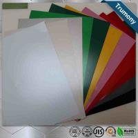 Wholesale Multicolor FEVE Aluminium Composite Panel Sheet Thickness 3mm ~ 6mm Custom Length from china suppliers