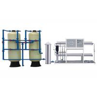 Wholesale 5000LPH RO Water Treatment Equipment , 2 Stage RO Water Purifier With FRP Tanks from china suppliers