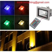 Wholesale New Remote Control 50W RGB LED Waterproof RGB Floodlights Flood Lights Outdoor from china suppliers