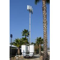 Wholesale Vehicle Mounted Pneumatic Telescopic Mast Mobile Light Tower With tripod from china suppliers