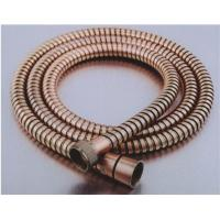 Wholesale Extractable Red Brone Stainless Steel Handheld Shower Hose Antique YS-019F from china suppliers