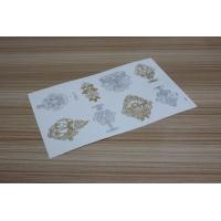 Wholesale Gold metallic tattoo from china suppliers