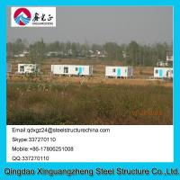 Wholesale Modern Steel Two Doors Flat Pack Container House South Africa For Public Shower Room from china suppliers