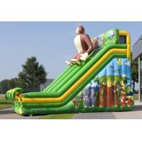 Wholesale Large Gorilla Commercial Inflatable Slide Green Inflatable Dry Slide For Amusement from china suppliers