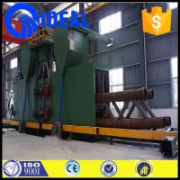 Wholesale Electric fuel  shot blast machine for solid square steel and round bar steel surface cleaning from china suppliers