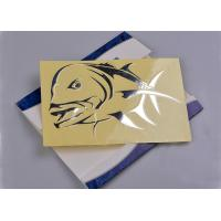 Buy cheap Custom adhesive vinyl no background silver engraved gift decal sticker from wholesalers
