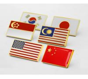 China IMKGIFT Die Struck Soft enaeml lapel pin , army lapel pin , flag lapel pins ,flag coins on sale