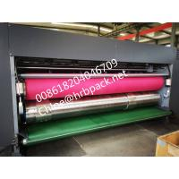 Quality vacuum Flexo Printing And Die Cutting Machine Printer Slotter corrugated carton for sale