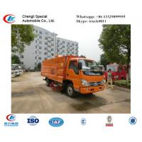 China factory sale forland small RHD road sweeper truck for sale,best price FORLAND RHD street sweeping vehicle for sale for sale