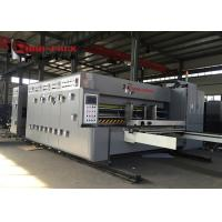Quality Economic Model Flexo Printer Slotter Die Cutter Machine For Pizza Box 50mm Wall for sale