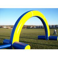 Wholesale Giant Advertising Arch Inflatable Advertising Products Customized Yellow For Event from china suppliers