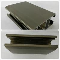 Wholesale T4  T5 Oxidizing Bronze Anodized Aluminum Channel With Customized Shape from china suppliers