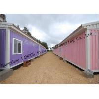 China Modified Shipping Container House Prefab Mobile Homes With Insulation Panels Easy Installation on sale