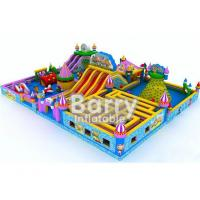 Wholesale Fire Retardant Inflatable Sport Game Water Park Slides With Air Blower / Repair Kit from china suppliers